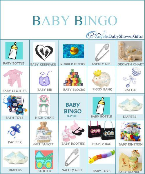 inexpensive baby shower games