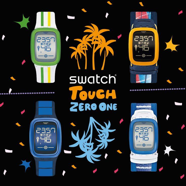 Adım sayar, alkış ölçer, plaj voleybolu arkadaşı, motivasyonunu arttıracak bir koç ve tabii ki bir Swatch!  #SwatchTouchZero'ya dokun, eğlence başlasın! Swatch, #MaltepePark zemin katta.