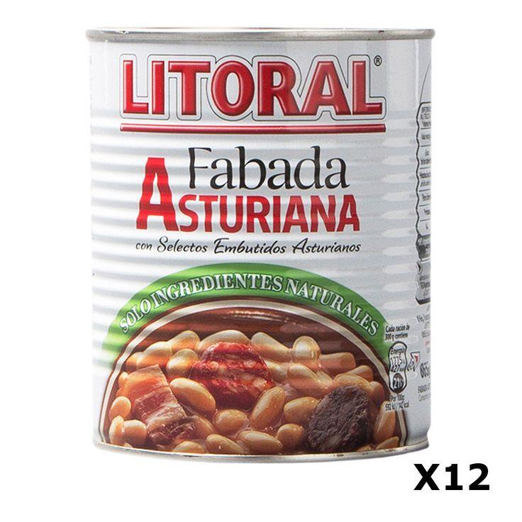 Bestelling Fabada Asturiana 435 Gr  - Litoral