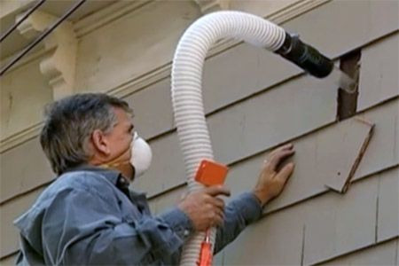 with General contractor Tom Silva | thisoldhouse.com | from How to Retrofit Cellulose Insulation