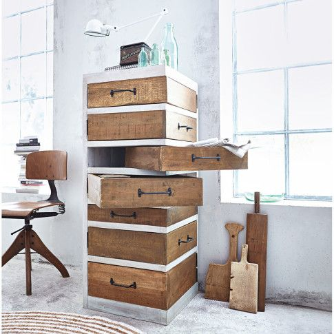 kommode drehschubladen wiederaufbereitetes holz 389 00 wohnung diele pinterest. Black Bedroom Furniture Sets. Home Design Ideas