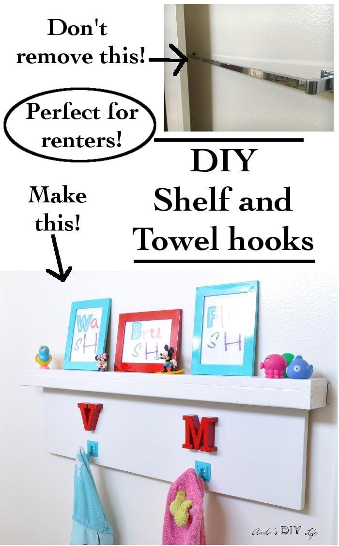 Diy Floating Shelves For Renters
