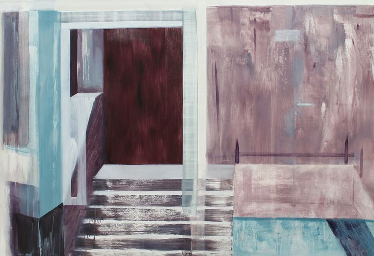 Room Glass oil on canvas 2014 100x150 cm