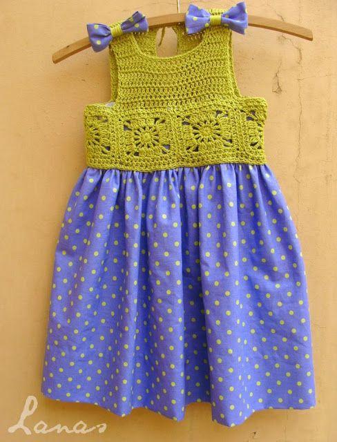 Sidney Artesanato: Palinhas para vestido de crochet. Mais