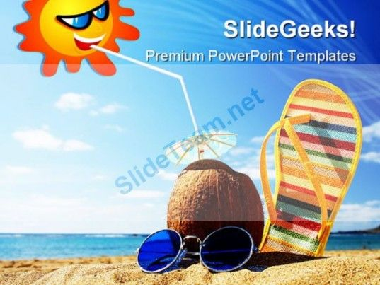 263 best beach powerpoint templates themes backgrounds images on sunny beach vacation free desktop wallpaper x toneelgroepblik Image collections