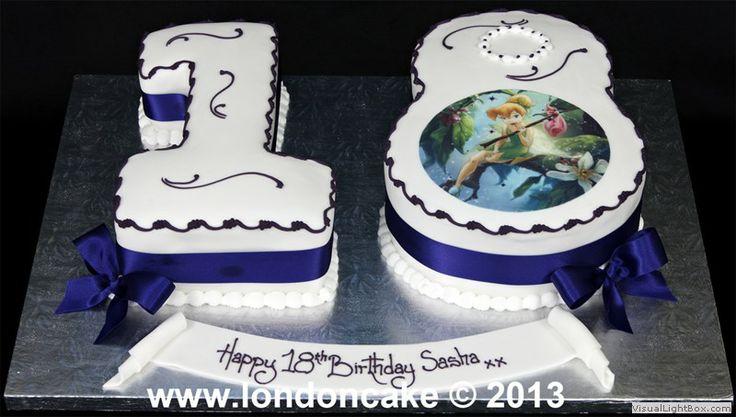 Torta 18 anni torte di compleanno per uomo pinterest for Torte di compleanno particolari per uomo