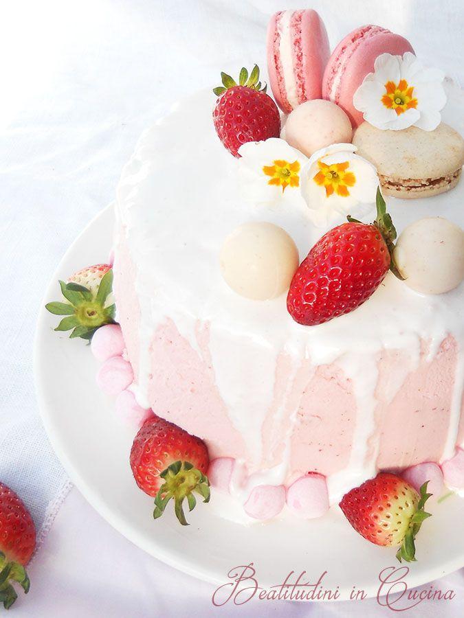 ricetta drip cake con ganache al cioccolato bianco