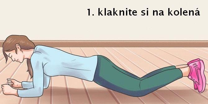 Ako robiť plank