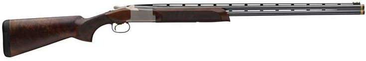 "Beautiful!! American Rifleman | Browning Citori 725 Sporting and Field Shotguns Now In Small Gauges-Citori 725 Sporting models will be offered with 30"" or 32"" ventilated rib barrel lengths and supplied with five extended Standard Invector choke tubes. The receiver has a silver nitride finish with gold accented engraving. Stock and forearm are Grade III/IV walnut with gloss oil finish. The new Citori 725 Sporting small gauges weigh in at 7 lbs. 4 oz. to 7 lbs. 7 oz. MSRP: $3,199.99."