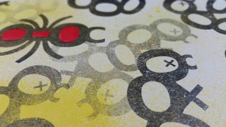 Red ant wins , allways! La formica rossa vince, sempre! vuole essere la metafora della vita, in una visione pessimistica. Il più cattivo e battagliero vince, sempre. Questo lavoro, della serie acrilico e trasferimento materico, riprende la semantica di Multinazionali.   #2017 #ant #arte #artseller #artworks #contemporanea #dipinto #drepar #formiche #gas #lavori #moderna #mostra #popart #redant