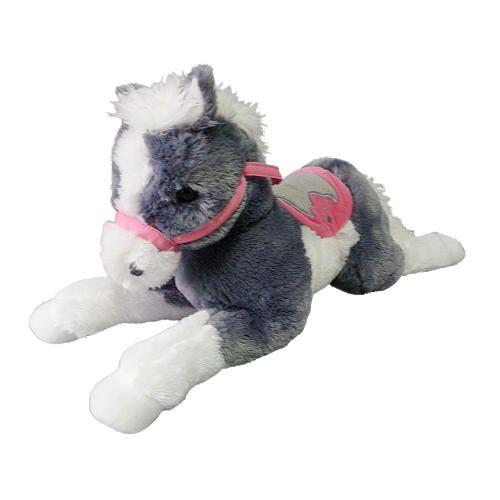 Horse Toys For Boys : Toys r us plush inch lying horse grey pinterest