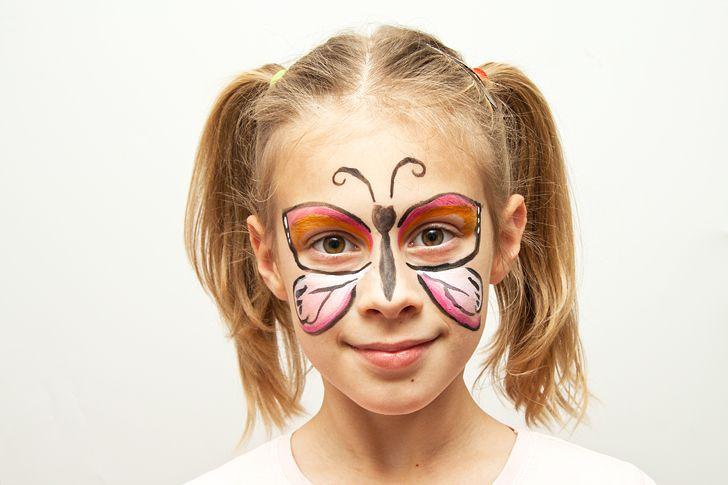 Idee fai da te :: Il trucco per Carnevale per i bambini Idee fai da te :: Il trucco per Carnevale per i bambini tutorial make up for kids cat tiger butterfly