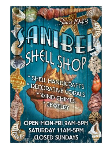 Shell Shop - Sanibel, Florida