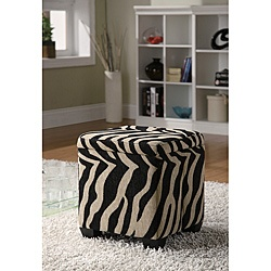 This casual contemporary storage ottoman has stylish design that perfectly complements your home decor. The ottoman comes in a beautiful, exotic khaki zebra pattern fabric.: Fabrics Upholstered, Khakis Zebras, Squares Storage, Prints Fabrics, Pattern, Print Fabrics, Oak Valley, Storage Ottomans, Zebras Prints