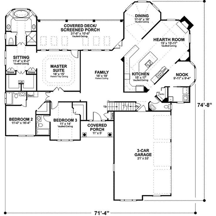 39 best 2 bedroom plans images on pinterest small house plans Floor Plans Hillside Home 39 best 2 bedroom plans images on pinterest small house plans, house floor plans and home plans hillside home floor plans