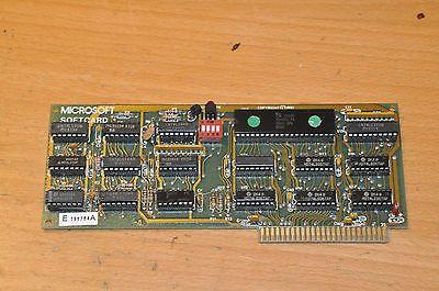 Microsoft Softcard  Z-80 CP/M Zilog Apple II . IIe IIGS free  ship word wide