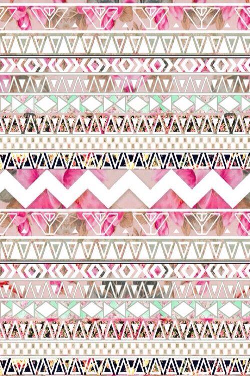 Motif aztèque coloré