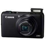 Canon PowerShot S90 10MP Digital Camera with 3.8x Wide Angle Optical Image Stabilized Zoom and 3-Inch LCD (Camera)By Canon