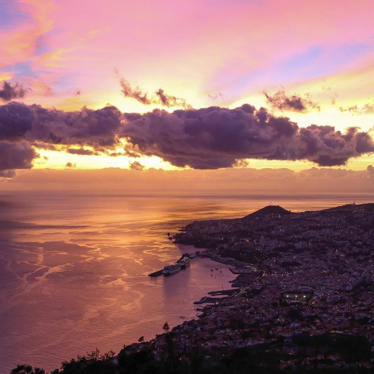 Funchal - Por do Sol - 22-01-15