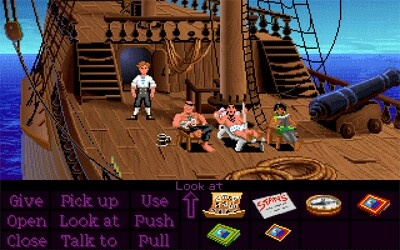 Secret Of Monkey Island (Amiga) - This game is only beaten by its sequel, a game that will make you laugh from beginning to end and so well made it puts lots of games today to shame.