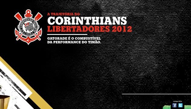 Assuntos Criativos™: Gatorade apresenta a trajetória do Corinthians na Libertadores 2012