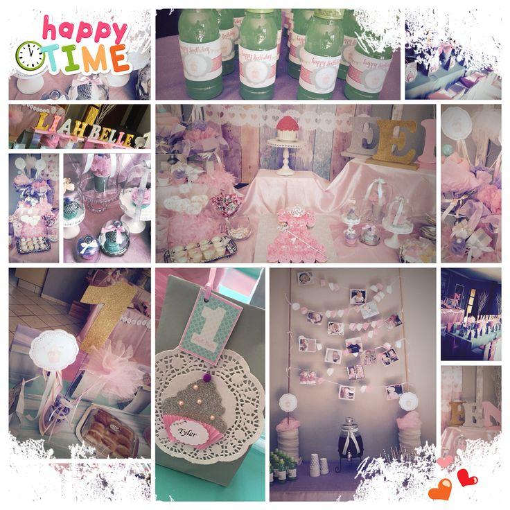 Cup cake Birthday theme