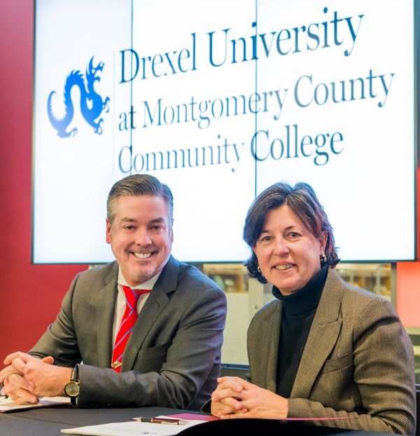 Drexel is partnering with Montgomery County Community College