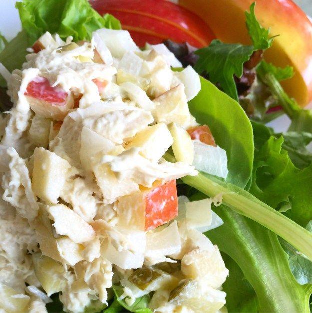 Apple Chicken Salad Recipe | Little Panda Mommy
