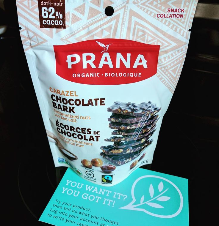 Looking forward to giving this tasty treat a try! Thank you @socialnature and @pranabio #trynatural #madewithprana #gotitfree