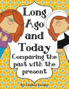 childrens books comparing past and present relationship
