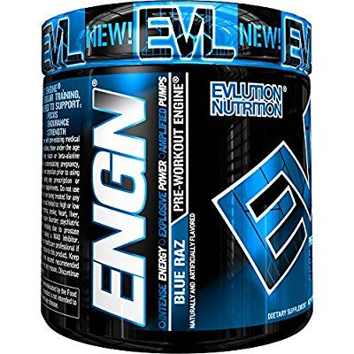 Evlution Nutrition ENGN Pre-workout, Pikatropin-Free, 30 Servings, Intense Pre-Workout Powder for Increased Energy, Power, and Focus (Blue Raz): Amazon.ca: Health & Personal Care