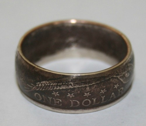 Beautiful Coin Ring Hand Hammered From A Sacagawea Dollar | eBay
