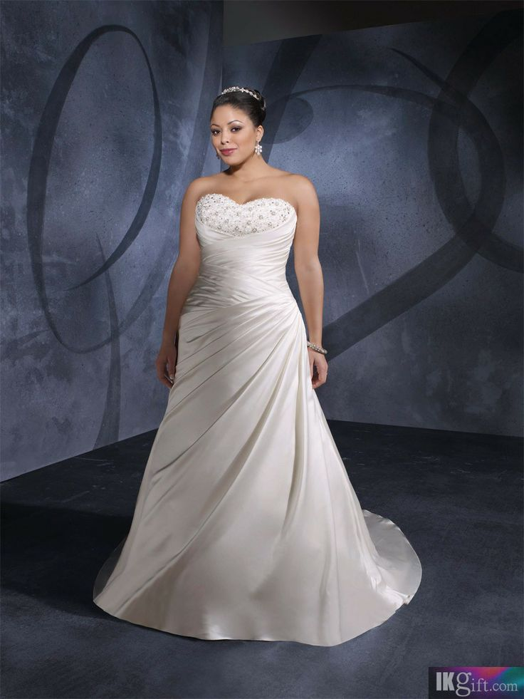 Fancy  best plus size wedding gowns images on Pinterest Wedding dressses Marriage and Plus size wedding gowns