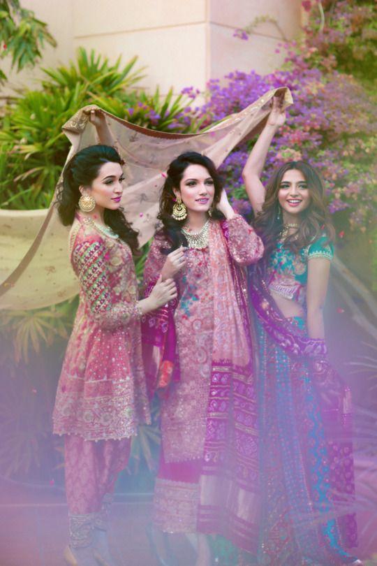 """Farah Talib Aziz """"My Best Friend's Wedding"""", F/W 2015 (Desi Bridal Shaadi Indian Pakistani Wedding Mehndi Walima)"""