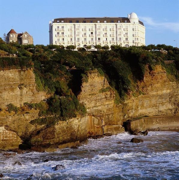 """Regina Thalasso & Golf Biarritz 4* Un écrin chic et """"Belle Epoque"""" face à l'Atlantique... Inoubliable."""