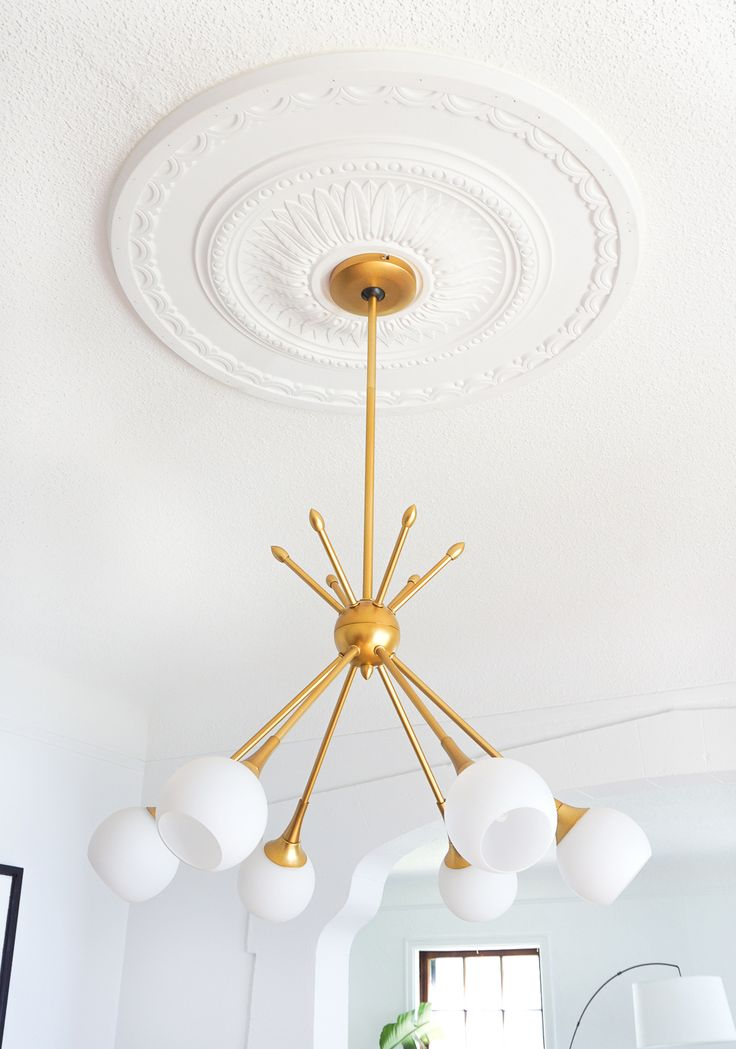 Best 25 eclectic ceiling medallions ideas on pinterest for Nursery ceiling light fixture
