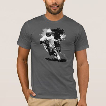 Lacrosse Player T-Shirt - tap, personalize, buy right now!