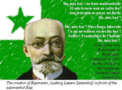 Esperanto is a language constructed by L. L. Zamenhof in 1887 designed to be an easy-to-learn language that would help with communication between countries of different languages and maybe even create world peace. The vast majority of the …