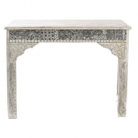 Stamp Block Wooden Console