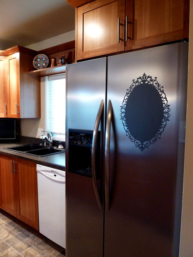 Chalkboard Vinyl Wall Decal - Great for the kitchen, office or anywhere in your home. $19.95, via Etsy.