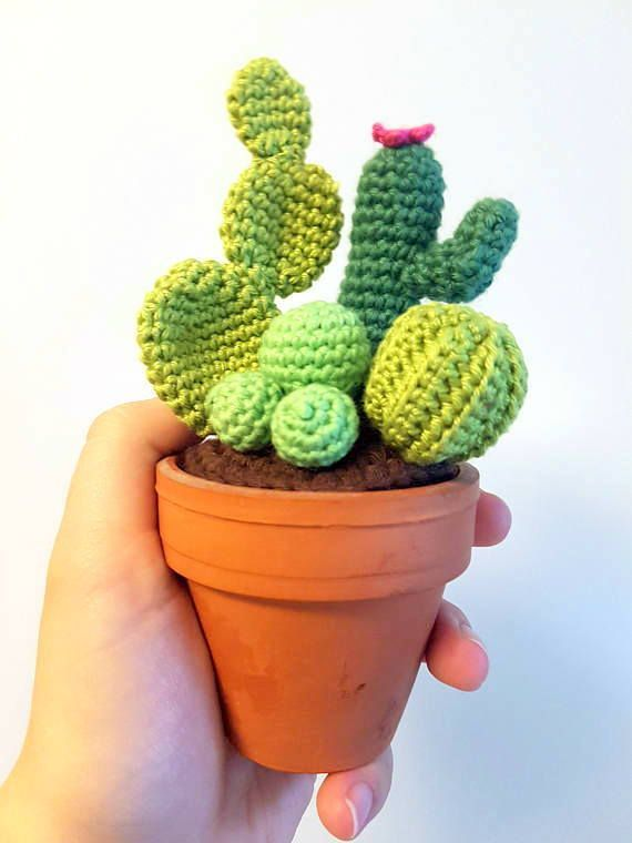 12 Crochet Cactus Tutorial - Creative Ideas (With images ...   760x570