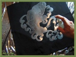 how to make a stencil for t shirt