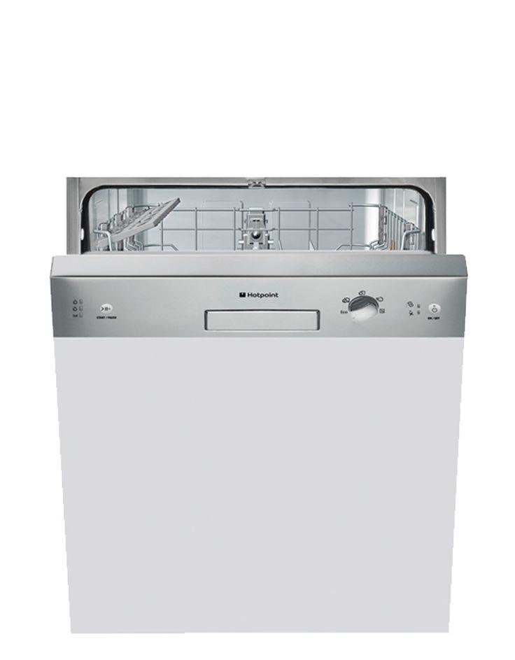 Hotpoint LSB5B019X Standard Semi Integrated Dishwashers
