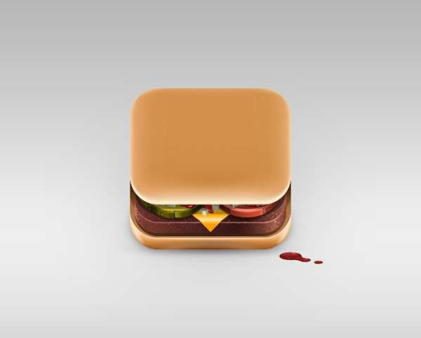 Food App Icons By Julian Burford