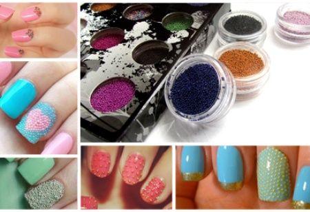 Manicura caviar original y sexy: frasquitos de diferentes colores Desde Bs. 60 hasta Bs. 90 por 6 a 12 frasquitos de perlitas para manicura caviar en Importadora Harla