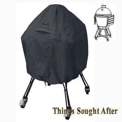 Barbecue and Grill Covers 79686: Large Cover For Kamado Ceramic Grill Big Green Egg Primo Joe Bayou Akorn Ravenna -> BUY IT NOW ONLY: $37.67 on eBay!