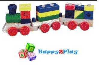 Houten speelgoed van Happy2Play.nl