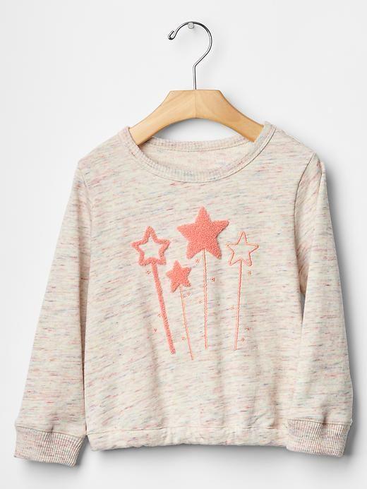 Marled sweatshirt Product Image