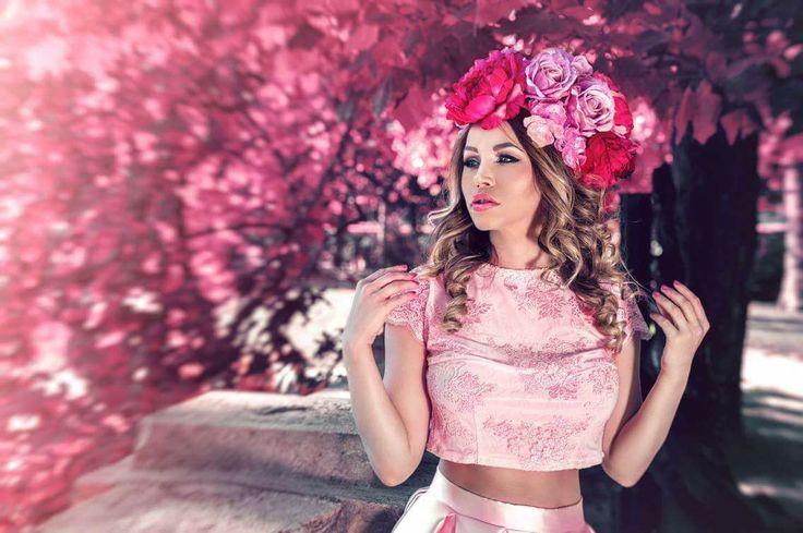 Pink Wedding Dress!   #wedding #dress #pink #kefashion