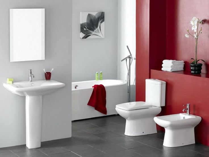 Red Bathroom Color Ideas 96 best bathrooms images on pinterest | bathroom ideas, bathroom